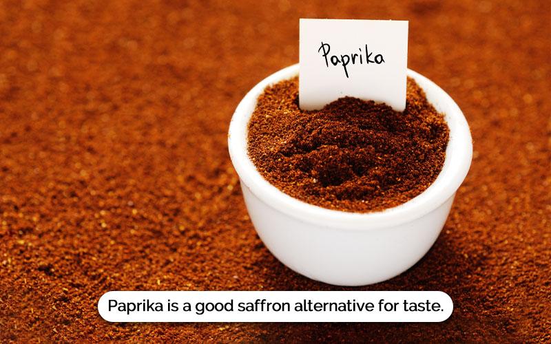 Saffron Substitute Paprika