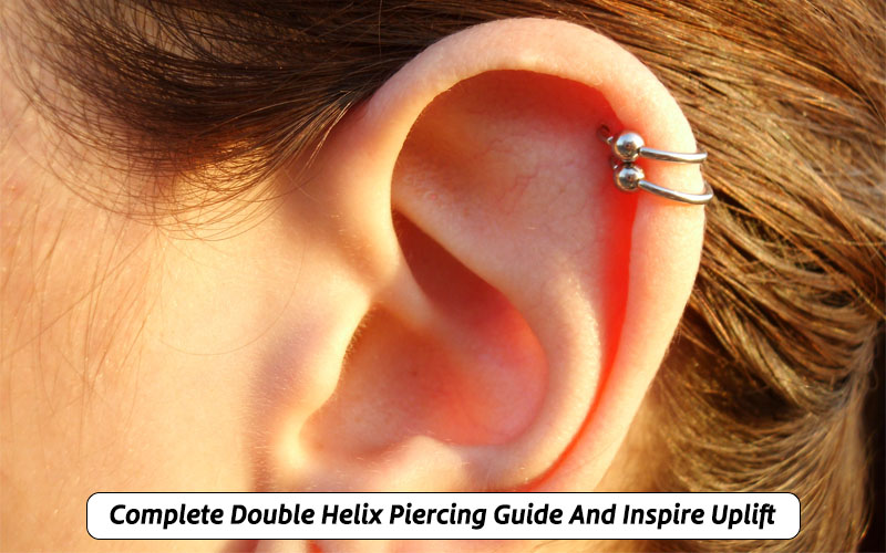 double ear cartilage piercing