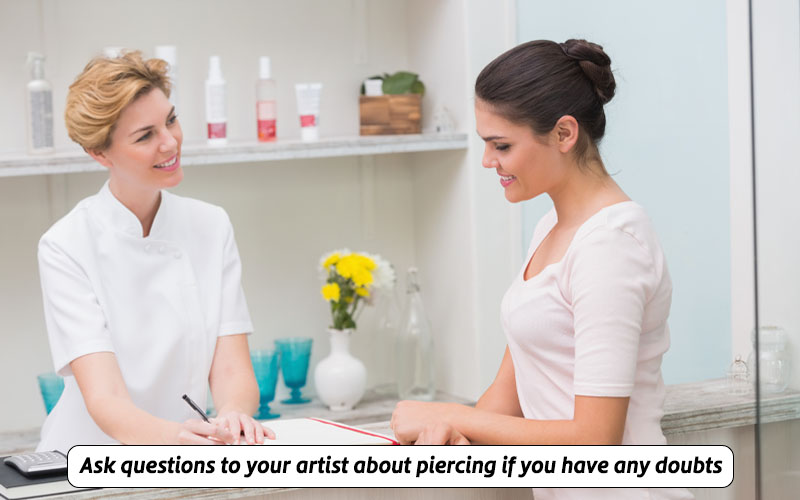 find the best piercing artist with license