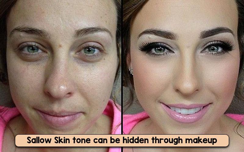 sallow skin makeup