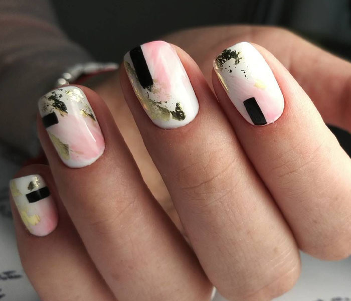 Abstract Art Nails