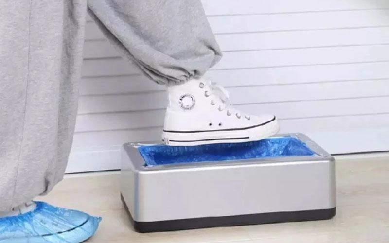 Automatic Plastic Shoe Cover Dispenser Machine
