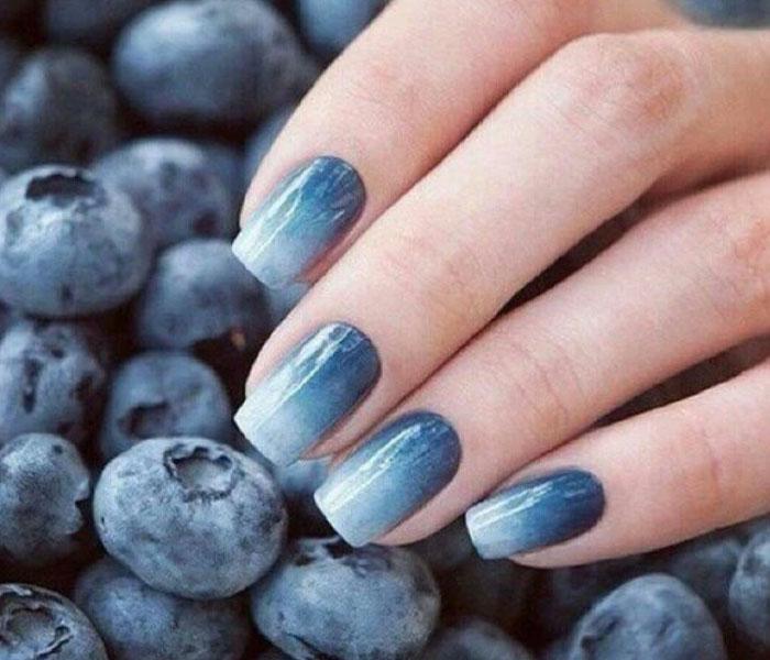 beach themed nails