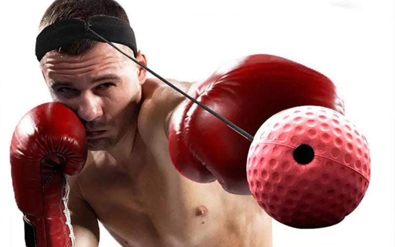 Boxing Reflex Ball Headband Set