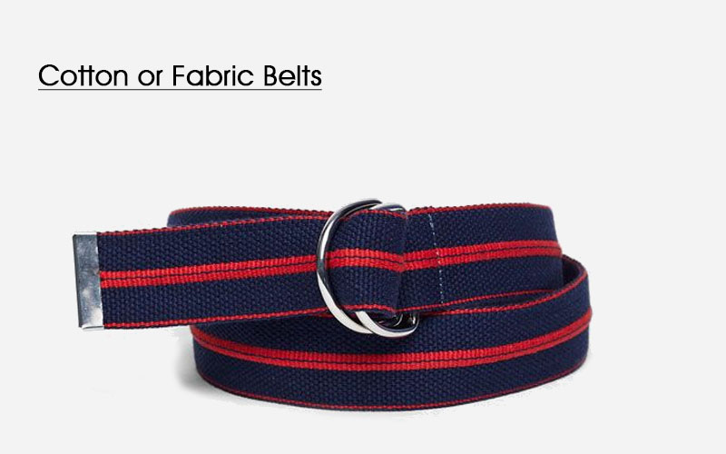 Cotton or Fabric Belts