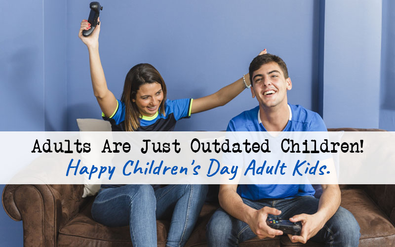 Funny Children Day Quotes