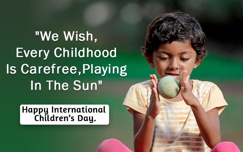 Happy Children Day Slogans