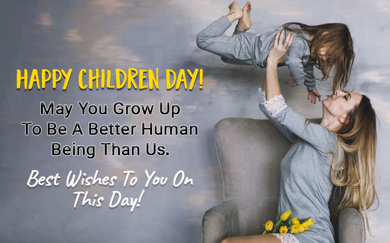 Happy Children Day Wishes from Dad