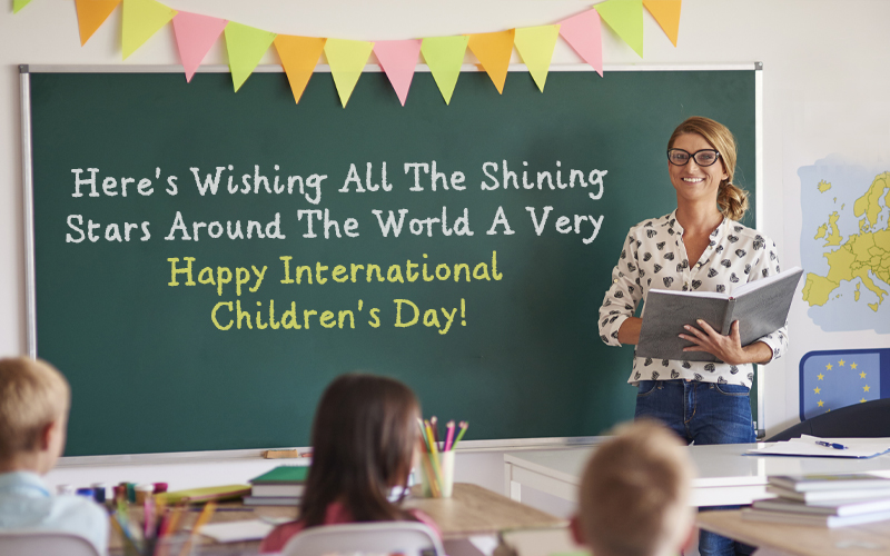 Happy Children's Day Greetings from a Teachers