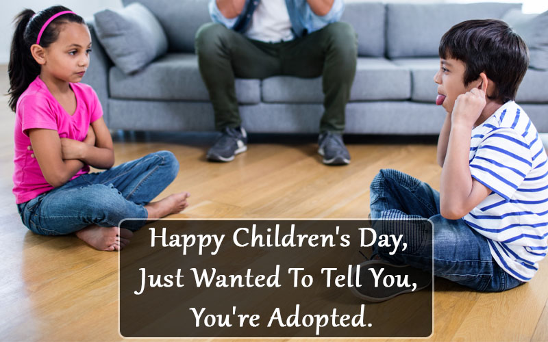 Happy Children's Day Messages from Siblings