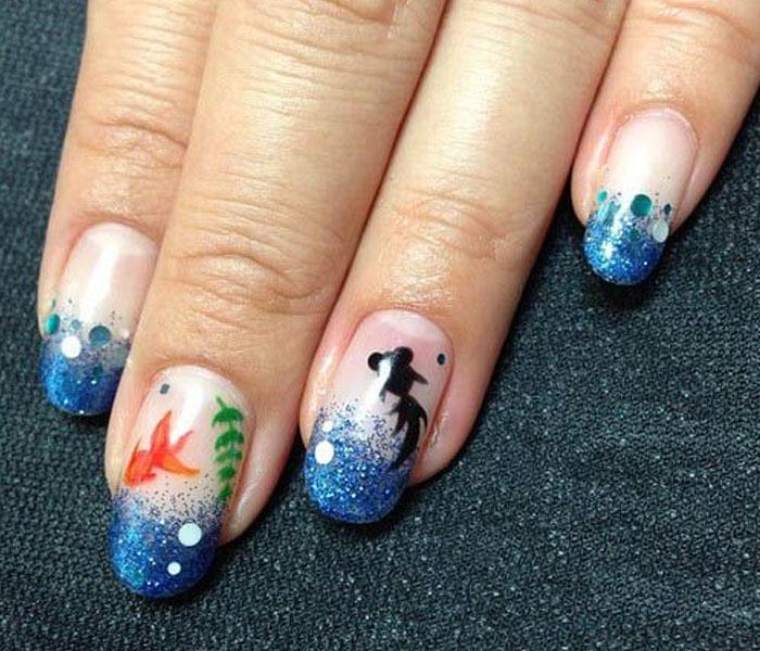 Sea Nails for Sea Lover