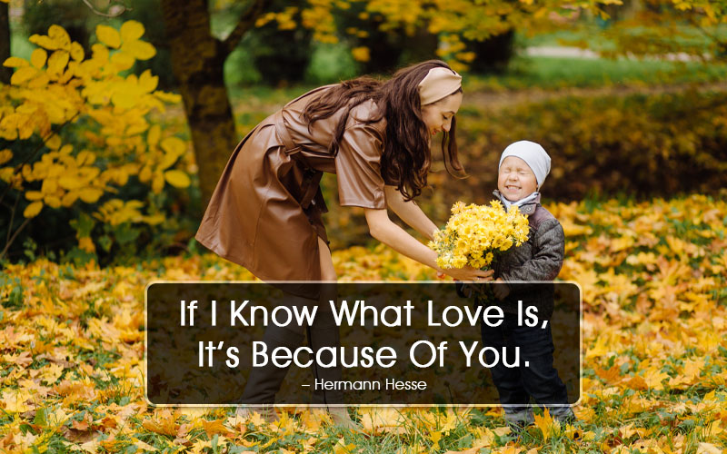 Short I Love You Mom Quotes – One-liners to Make Her Feel Special