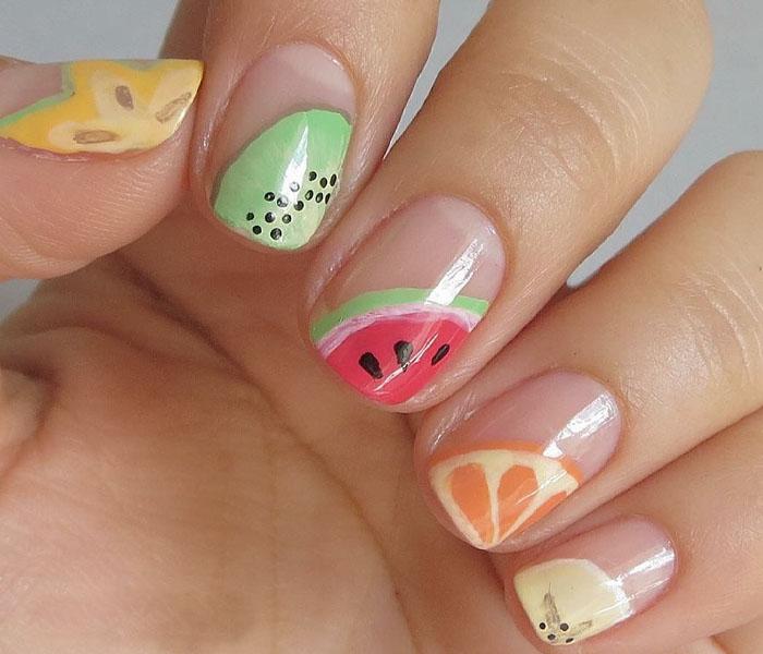 beach nails ideas