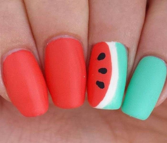 fruit nails design