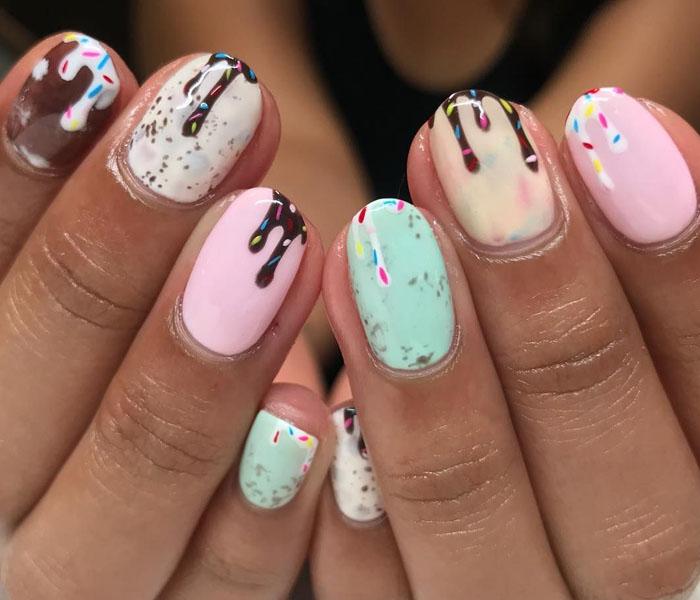 bella beach nails
