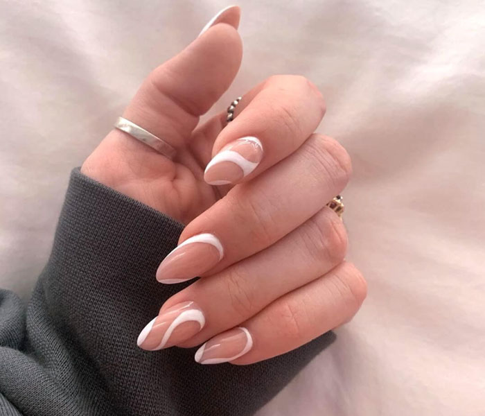 almond nail colors