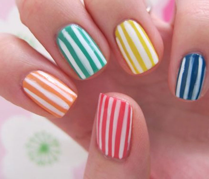 bright spring nail ideas for beginners