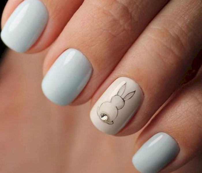 chic nails blue springs2