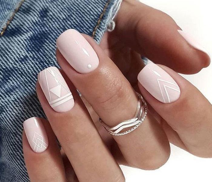 cute spring nail art 2021