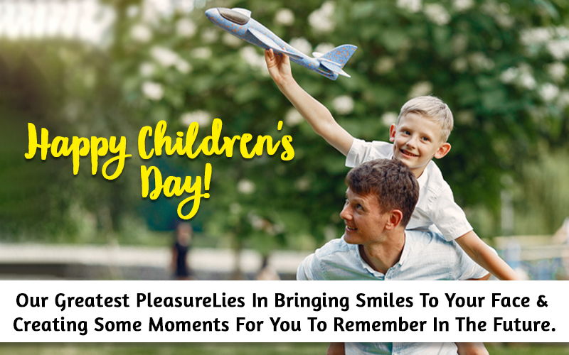 Children day quotes from parents
