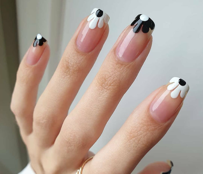 nail design spring flower ideas