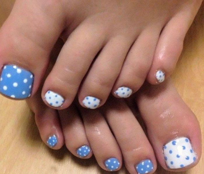 toe polish design