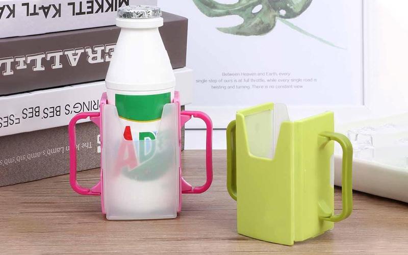 Adjustable No Squeeze Juice Box Holder