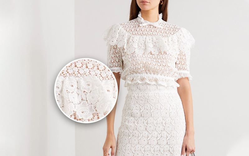 Berry Lace Guipure lace