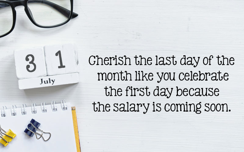 July Calendar Quotes