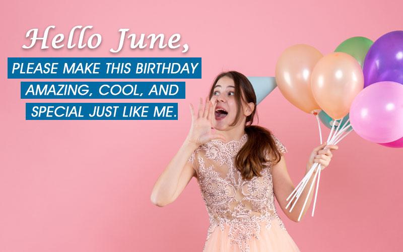 June Birthday Quotes