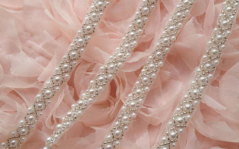 Pearl Bead Lace