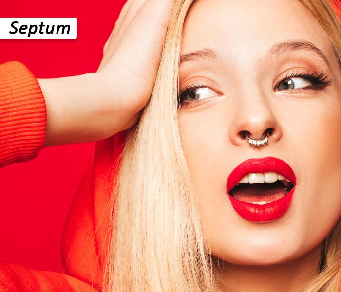 Septum nose ring