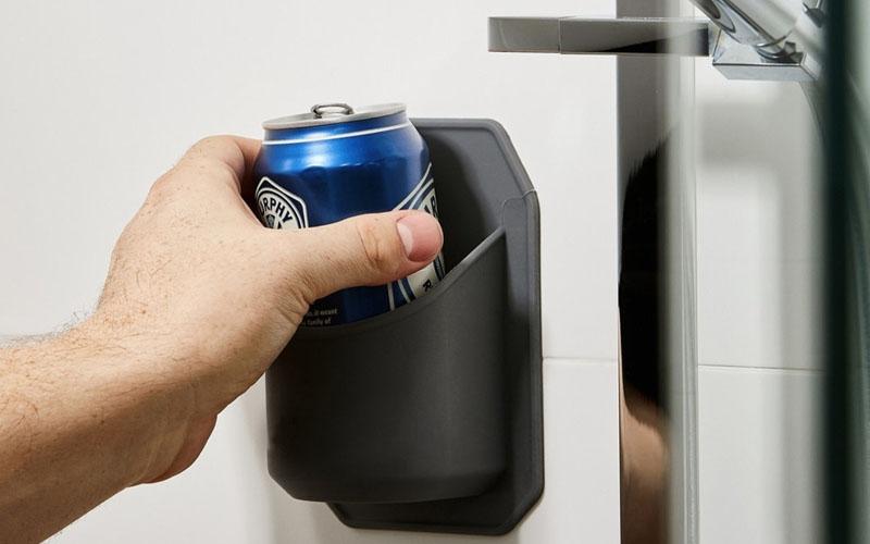 Shower Beer Holder For Bottles & Cans