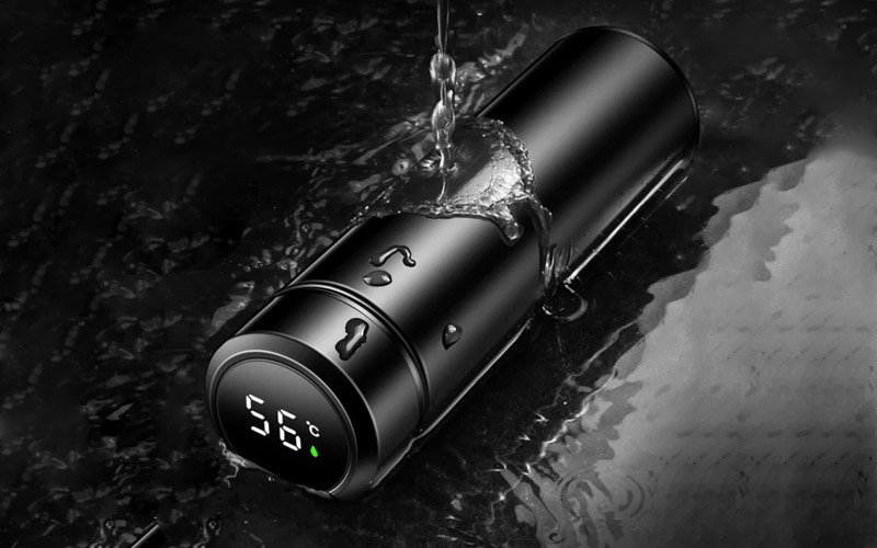 Smart LED Temperature Display Water bottle