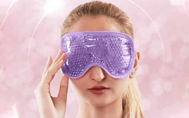 Soothing Hot & Cold Gel Beaded Eye Mask