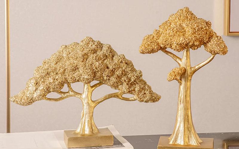 Tree Sculpture Table Ornament