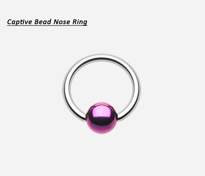 captive bead nose ring
