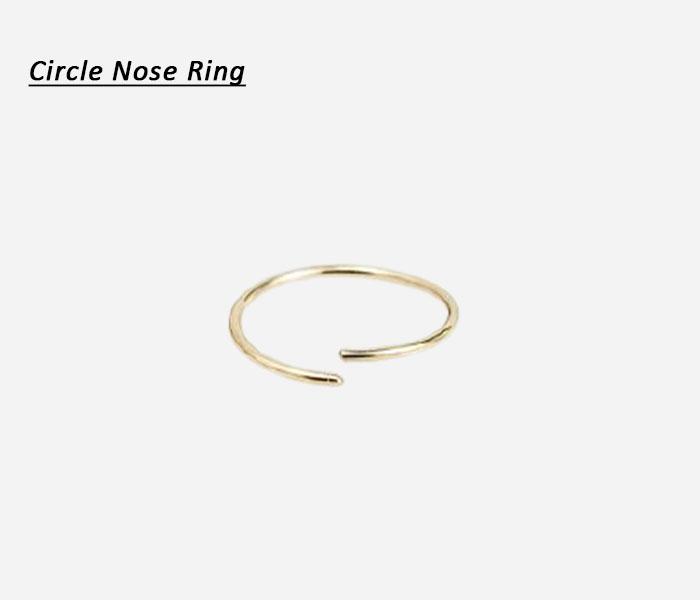 circle nose ring