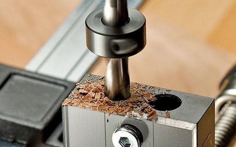 8 Pcs Drill Stop Collars Set