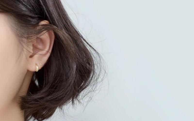 925 Sterling Silver Spiral Stud Earrings