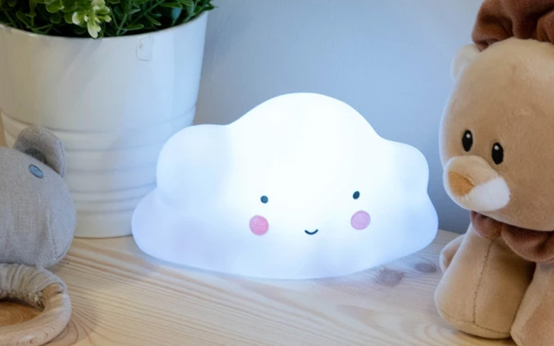 Battery Operated Cute Little Cloud Lamp