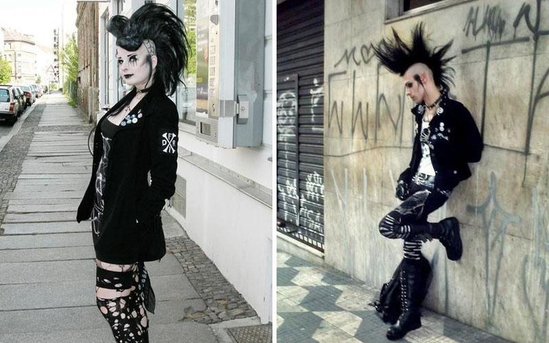 Deathrocker Goth