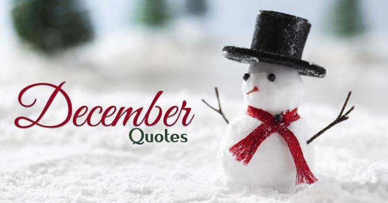 December Quotes