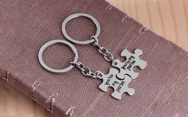 Engraved You're My Person Keychain