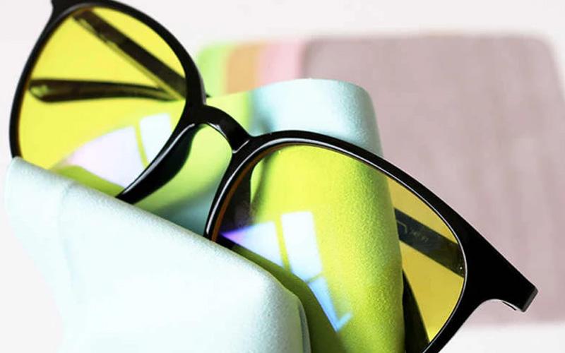 Fiber Suede Lint Free Anti-Fog Glasses Cloth