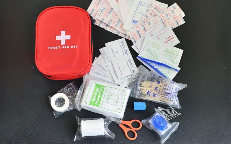Mini First Aid Kit Pouch
