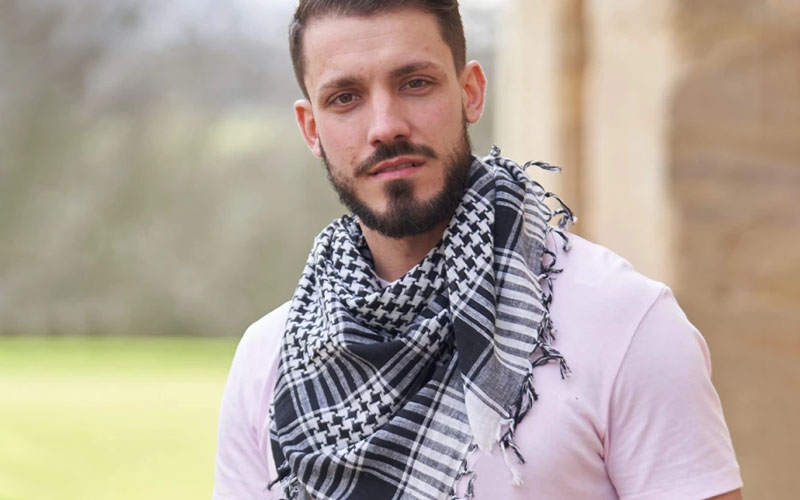 Polyester Tactical Desert Scarf
