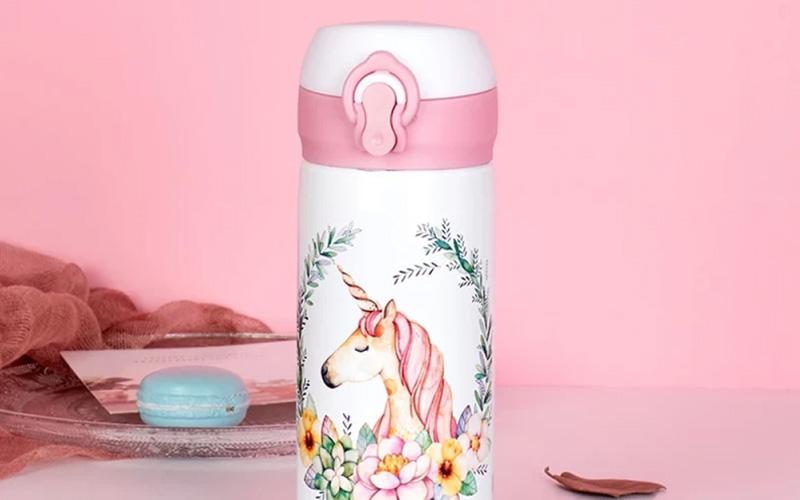 Stainless Steel Unicorn Water Bottle