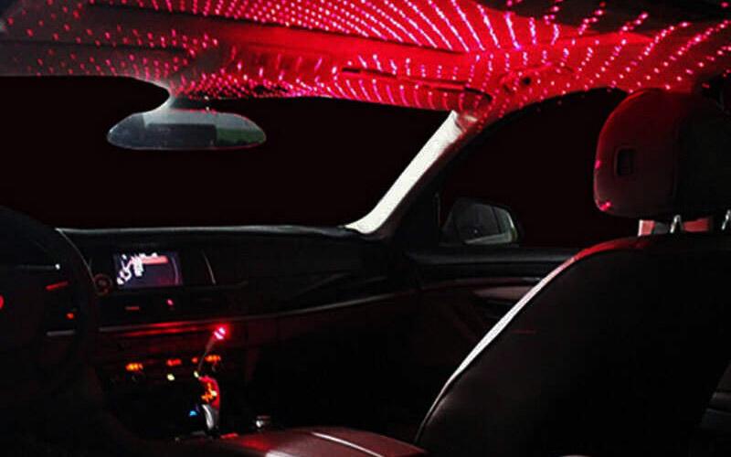 Starry Sky Car Interior Roof Light