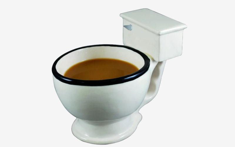 Toilet Bowl Coffee Mug, 300 ml Capacity